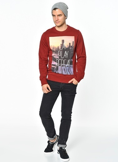 Jack & Jones Sweatshirt Bordo